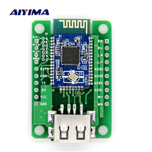 Aiyima Bluetooth Amplifier Board V4.1 Stereo BK3254 AT Change Name Password Dual 3W Amplifiers Supports U Disk TF Card