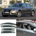 4pcs Blade Side Windows Deflectors Door Sun Visor Shield For Audi A4L / A6L