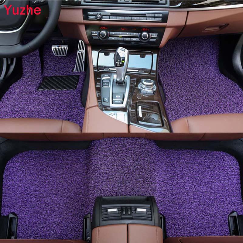 Yuzhe Custom Auto car floor Foot mat for Opel Astra h j g mokka insignia Cascada corsa adam ampera car accessories car styling