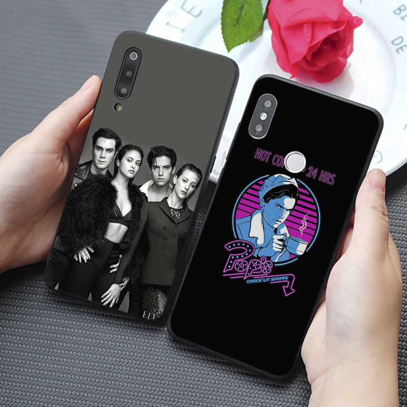 Amerykańska telewizja Riverdale serii etty i Veronica miękki silikonowy futerał na telefon dla samsung galaxy a50 a70 a30 a40 a20 s8 s9 s10 plu