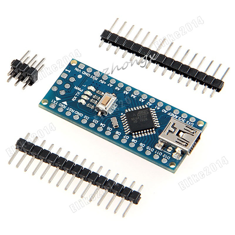 Xnwy CH340/ATmega328P MicroUSB, совместимый Pour Nano V3.0 ...