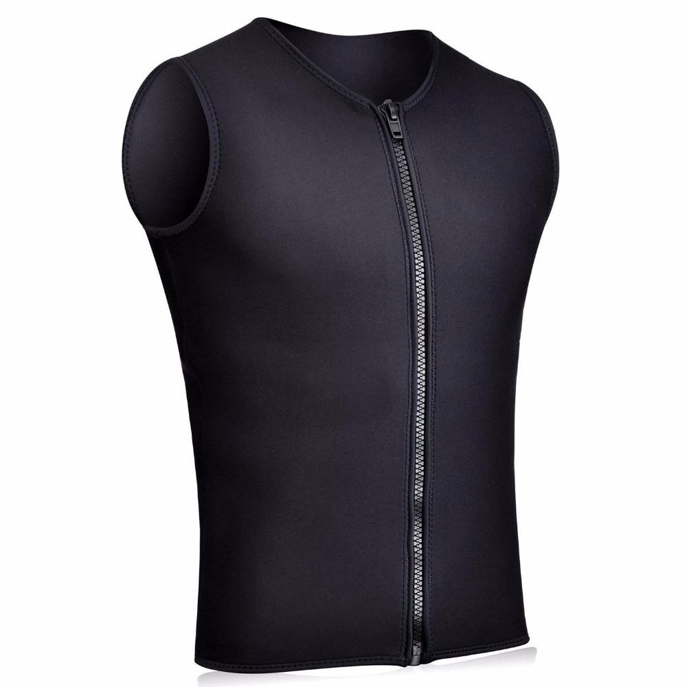 3mm Neoprene Women Sleeveness Wetsuit Zipper Vest Wakeboard Coat Tops
