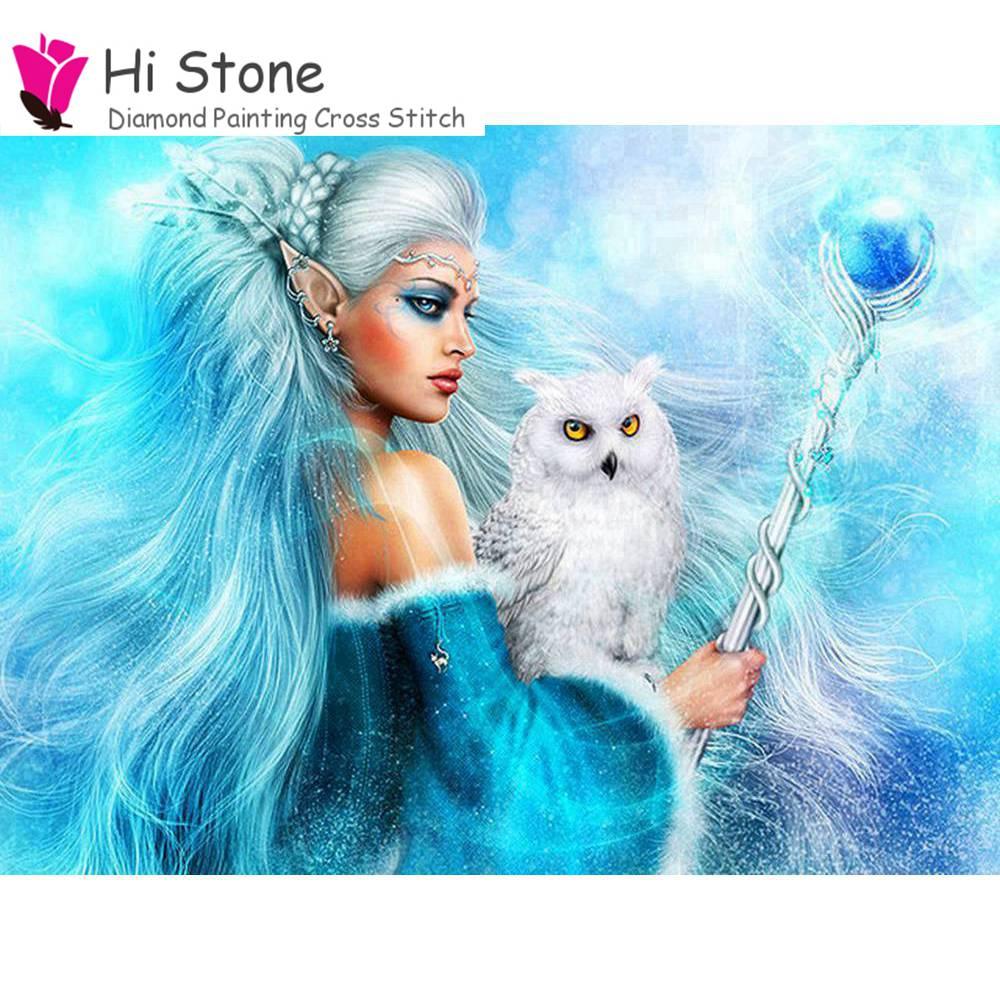 Ангел кошка Рукоделие 5D DIY алмазов картина вышивки крестом полный квадратный алмаз Вышивка Украшения Дома Мозаика подарок