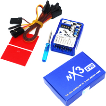 RC Flight Controller.NX3/NX3 EVO Flight Controller Board Fixed wing flight gyro balancer For 2D/3D Fixed wing Aircraft