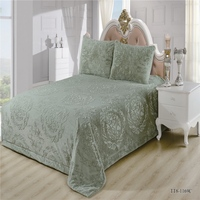 2017 CLORIS High Quality Quilted Bedspread On Bed twin bed bedspreads King Queen Size quilted bedspread
