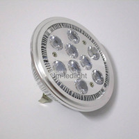 Fast Free Ship 30pcs Led Ar111 G53 Ar111 E27 GU10 9W Warm White Day White Cold
