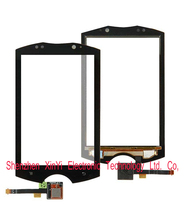 Whloesale 10pcs/lot Touch Screen For Sony Ericsson WT18 WT18i Digitizer Top Panel Repair Parts black color free shipping