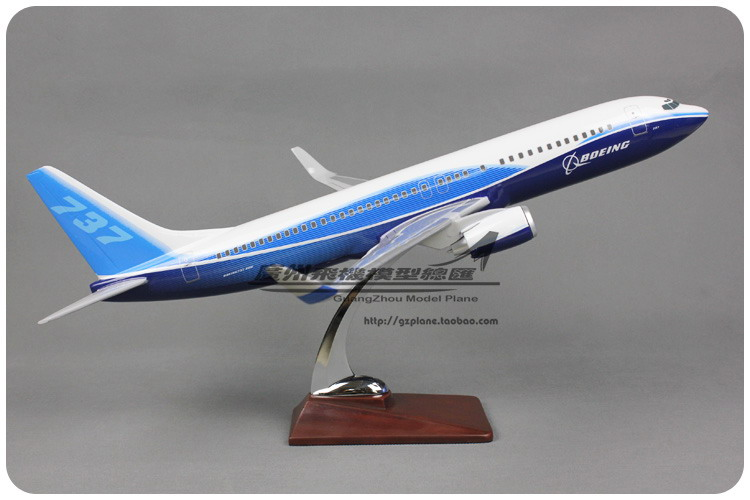 47cm Resin Prototype Airlines Airplane Model Boeing 737-800 Aircraft Model B737-800 Airways Airbus Model Aviation Model Toy Gift 1 400 jinair 777 200er hogan korea kim aircraft model