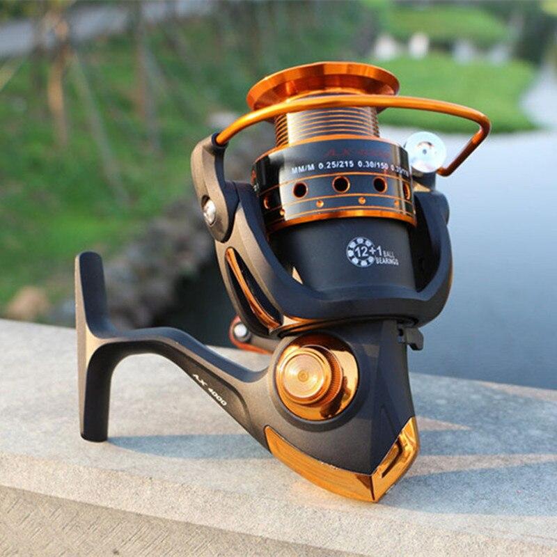 12bb plus 1 Bolas de Rolamento Roda para Água Spinning Reel Fishing 500-9000 Series Barco de Pesca Rocha Doce Peixes Água Salgada