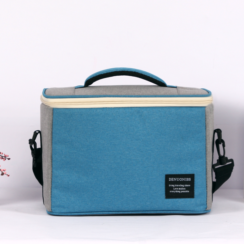 Portable Thermal Lunch Bags for Kids Women Men Multifunction Food Picnic bag cooler box Insulated handbag Single Shoulder Bag