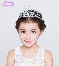 Princess Disney FrozenAnna And Elsa Cartoon Theme Headwear Baby Shwer Favor Party Decoration Girl Birthday Supplies