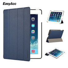 Easyacc Case For iPad 2 3 4 Leather Case PU Protective Smart Cover Case for iPad 2 3 4 New Free Shipping Covers & Cases lychee pattern protective swivel rotating pu leather case for ipad 2 the new ipad red