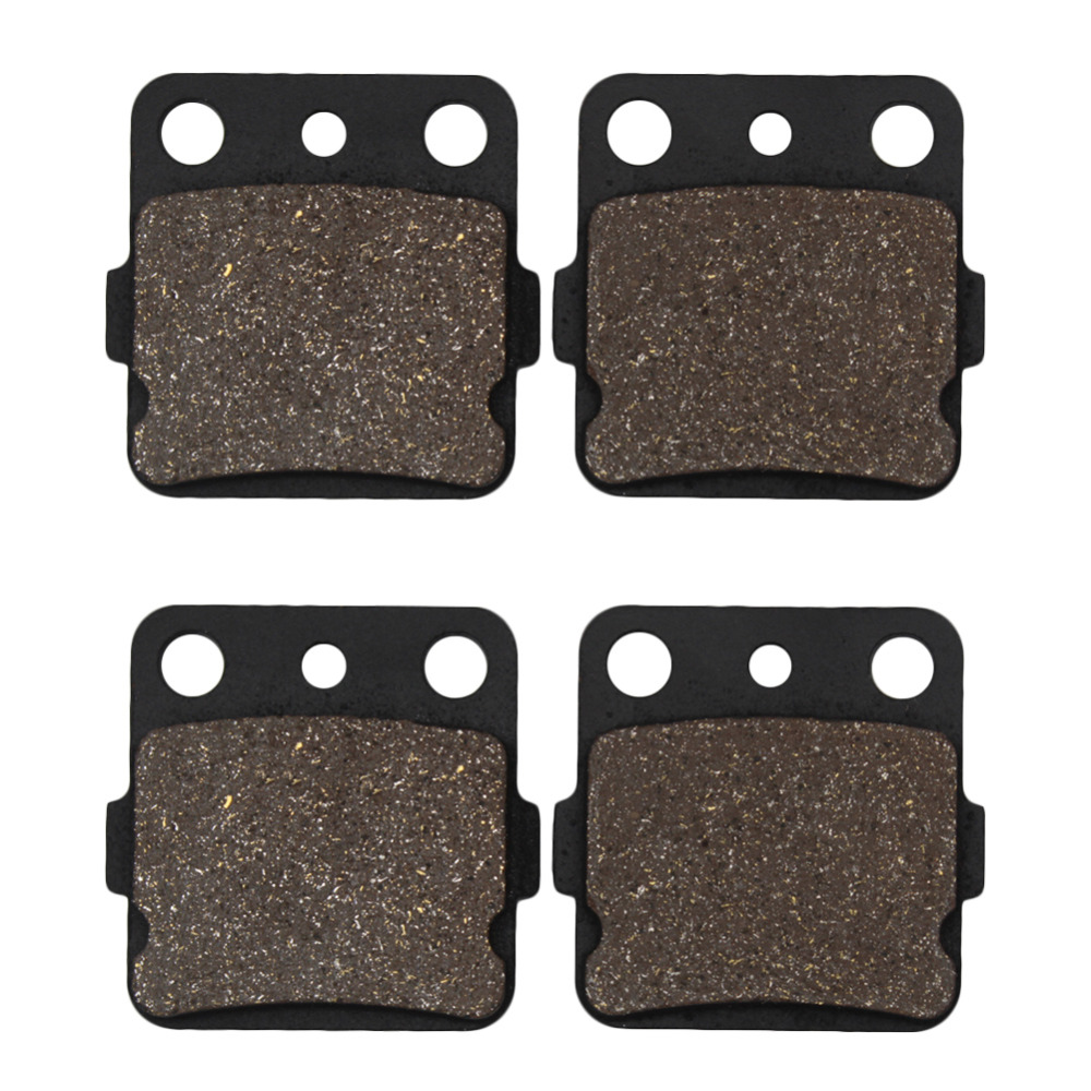 Cyleto Motorcycle Front Brake Pads for Yamaha YFM660 Grizzly 660 02-08 YFM600 Grizzly 600 98-01 YFM660R Raptor 660 01-04