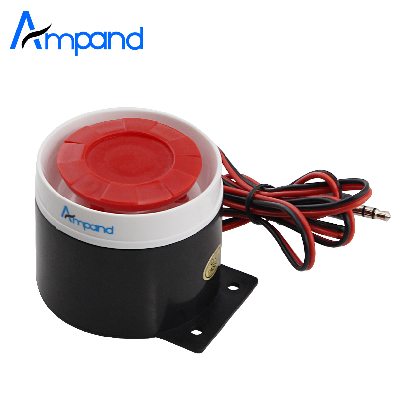 Mini Wired Siren For Home Alarm Security System