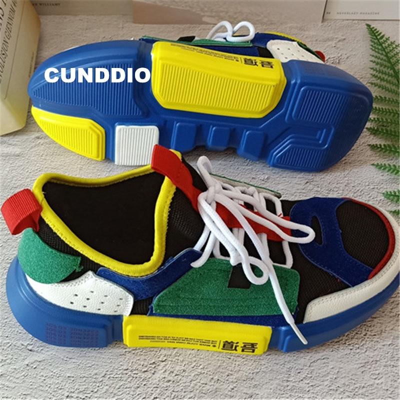shoes men 2018 Casual shoes Unisex Sneakers men Flat shoes mesh zapatos mujer men shoes Brands Platform tenis feminino EU 36-44 стоимость