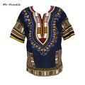 Мода Группы Г-Н Hunkle Дизайн 100% Хлопок Новое Прибытие Африканский Печати Dashiki Одежда Короткие Рукава Dashiki Футболки Для Мужчин