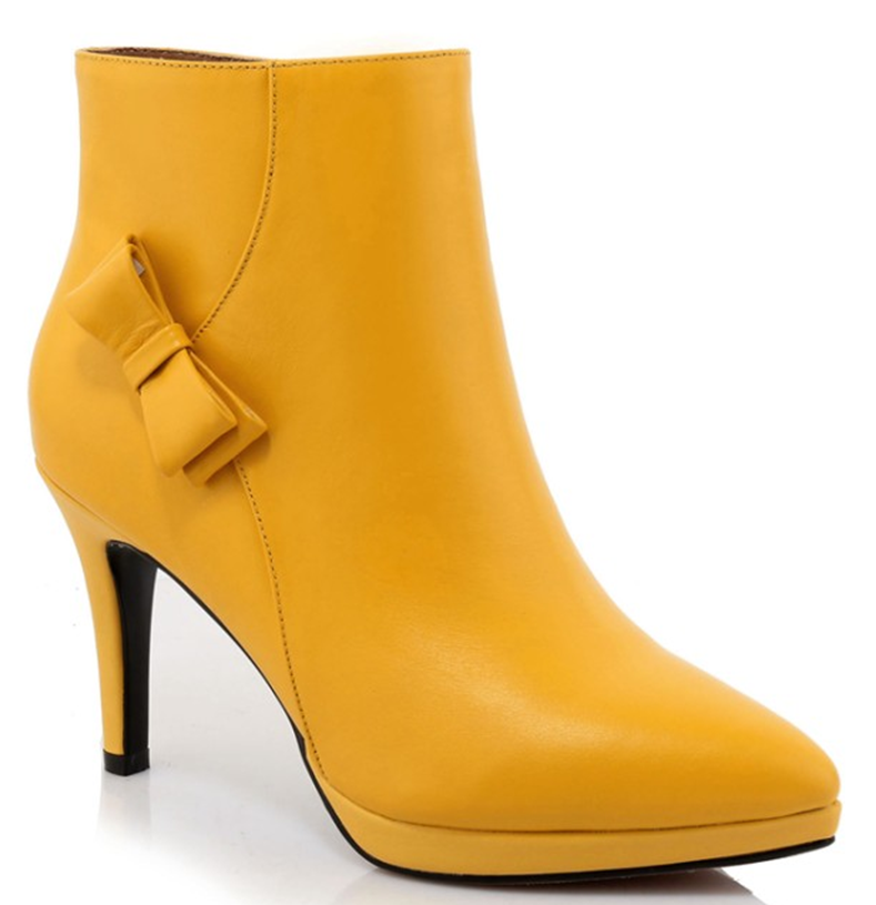 High Quality Yellow Leather Boots-Buy Cheap Yellow Leather Boots ...