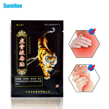8Pcs/Bag Sumifun Tiger Balm Chinese Herbs Medical Plaster Joint Pain Back Neck Curative Plaster  Massage Medical Patch C1568 8pcs bag sumifun tiger balm chinese herbs medical plaster joint pain back neck curative plaster massage medical patch c1568