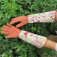 1Pair Thick Long Sleeves Anti Insect Garden Gloves Safe Dig And Plant For Plants Planting Digging