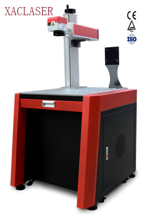 Купить с кэшбэком XAClaser favorable price fiber laser marking machine for metal marker with high quality
