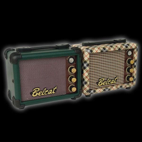 BELCAT I-5U 5Watt DC 9V Mini UKULELE Amplifier with Volume Treble Bass MP3 IN headphone DC jack (NOT include Battery & Adapter)