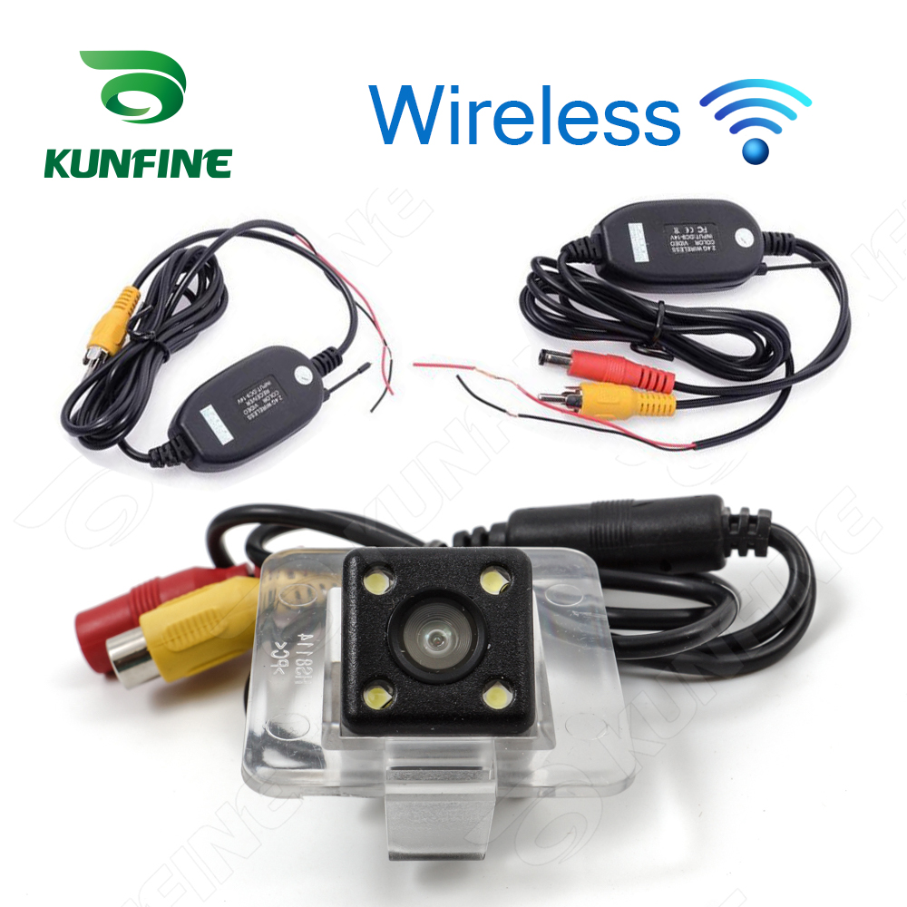 HD Wireless Car Rear View Camera For Benz GLK 09/11 Camera Reverse Backup Camera Parking Assistance Camera Night Vision