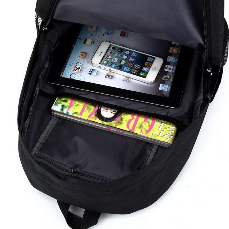 Messi Backpack Teen College high School Bag for Teenager Boy schoolbag Black men Back pack Kids Book Bag 2019