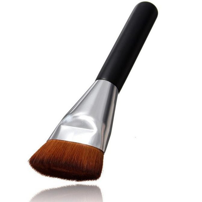 Flat Contour Brush Foundation Brush Makeup Brushes makeup tools & acessrios makeup brush holder couro makeup tools #05