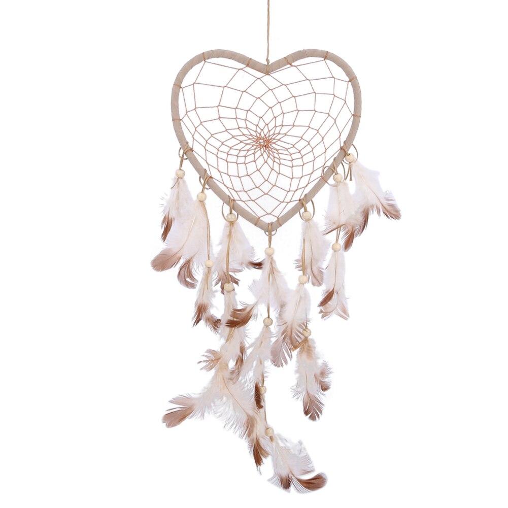 45cm Handmade Dream Catcher Federn Perlen Auto wand Hängen Hause Dekoration Ornament