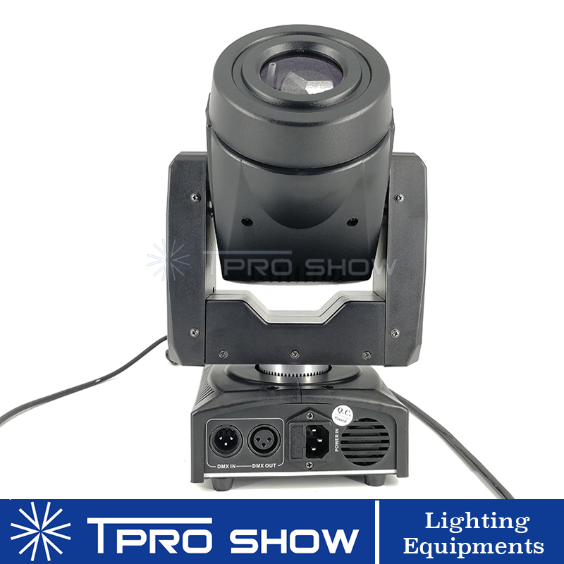 Image 4 - 2pcs 90W Moving Head Spot Lyre LED Stage Lights Dmx Gobo Prism Beam Effect Mini DJ Light for Party Club Wedding with Music Mode-in Stage Lighting Effect from Lights & Lighting