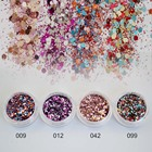 Mix Sequins for Nail Art Fine Glitter Powder for Nails Colorful Spangles for Nails Glitter Dust Paillettes Gold Powder SF2026