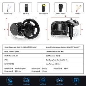 Image 2 - EU Stock NO TAX ! Bafang 36V 350W Bike Electric Conversion Kits 8Fun BBS01B Mid Drive Motor Bicycle Central Engine BBS01