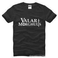 Valar Morghulis Game Of Thrones Inspired Printed Mens Men T Shirt T Shirt 2015 New O