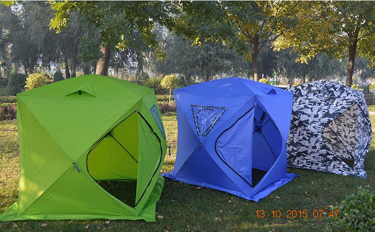 High quality Flytop winter tent double layer 4 season aluminum rod outdoor large c&ing tent ice fishing tent with snow skirt-in Tents from Sports ... & High quality Flytop winter tent double layer 4 season aluminum rod ...