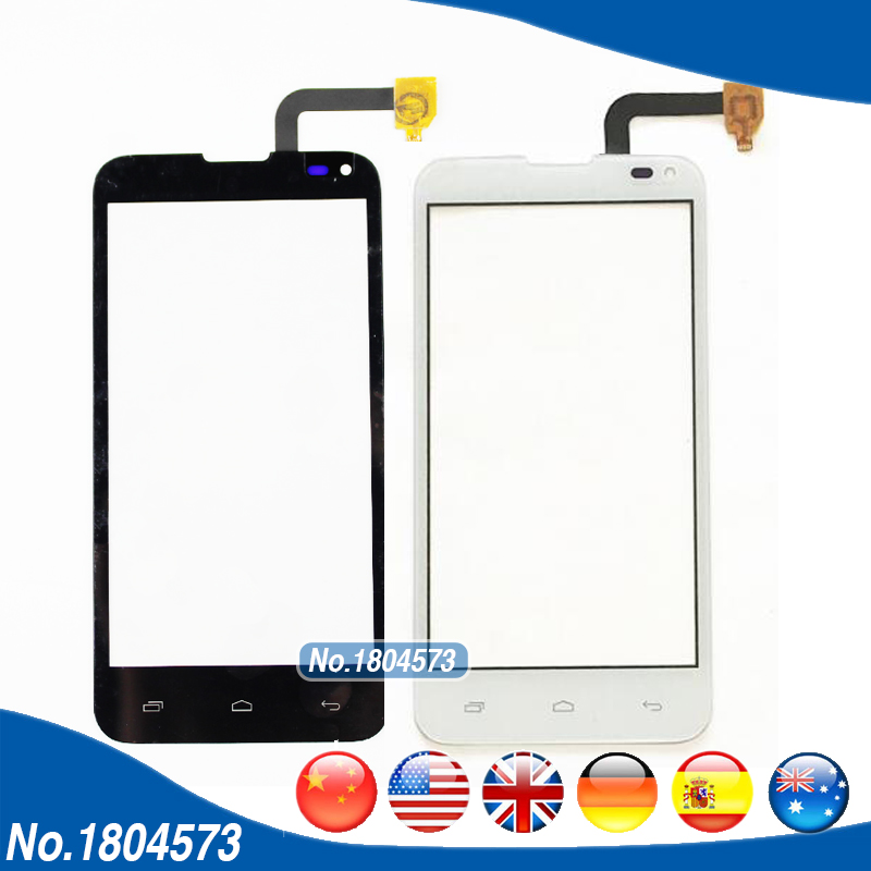 4.5 IQ 4415 Touch Screen For Fly IQ4415 Era Style 3 Touch Screen Digitizer Front Glass Panel Replacement Black White 1PC/Lot