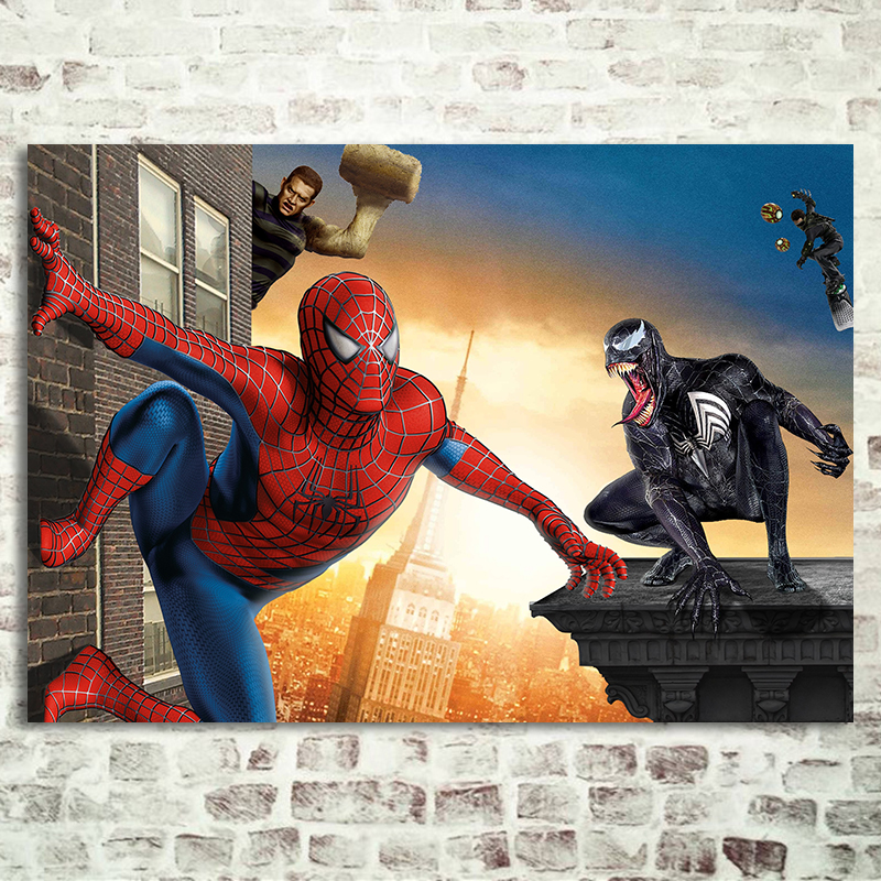 Spider Man 3 Movie Poster Harry Osborn Sandman Marvel ...