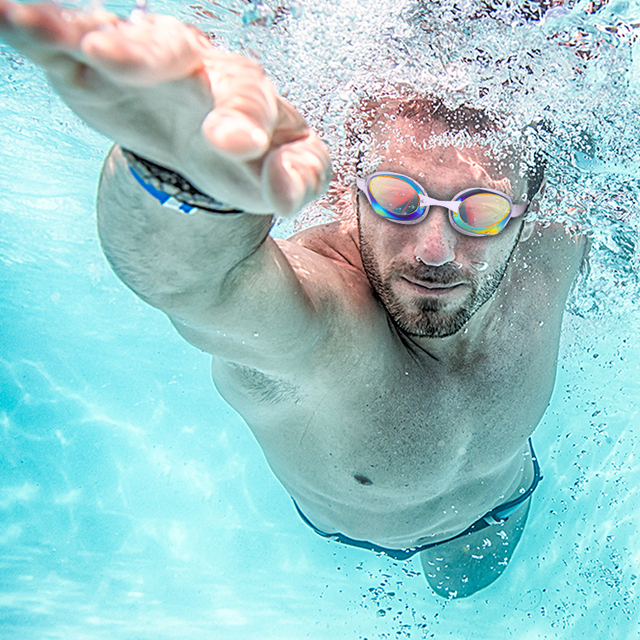 Waterproof UV Protective Swimming Glasses