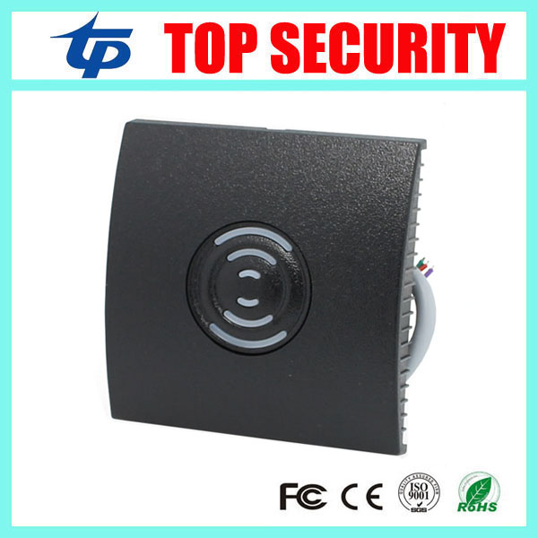 Free shippinf 4pcs IP65 waterproof 125KHZ RFID card reader weigand 26 card access control reader with LED light and beep KR200 outdoor mf 13 56mhz weigand 26 door access control rfid card reader with two led lights