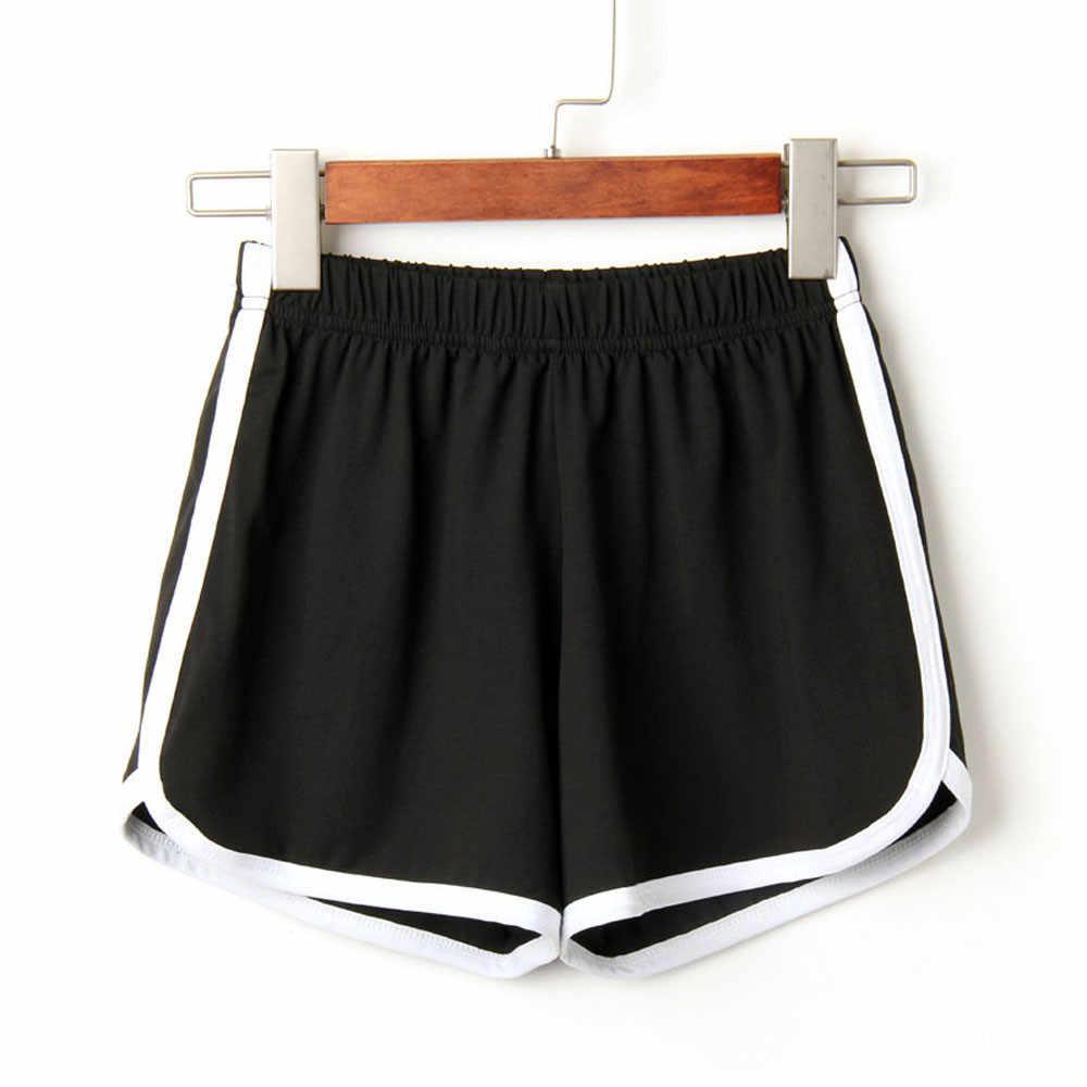 Nowe letnie spodenki damskie na co dzień szorty treningowe Skinny krótki