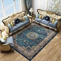 Импортный иранский персидский ковер гостиная домашний ковер спальня 100% полипропилен коврик диван журнальный столик пол коврик кабинет ков