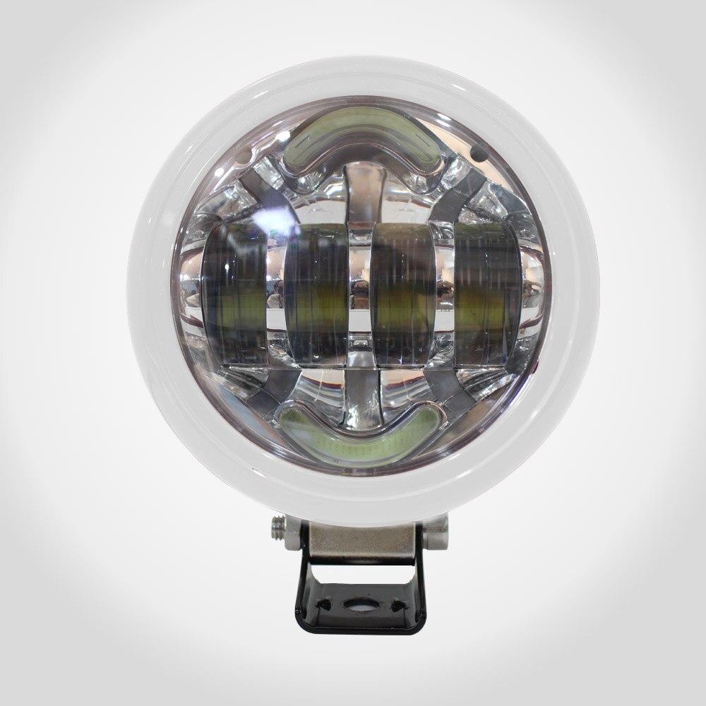 LYC Led Car Lights Exterior Daytime Leds DRL Light For Toyota Engine Light Fog Lamp For Jeep Wrangle For NISSAN 3000k/6000k