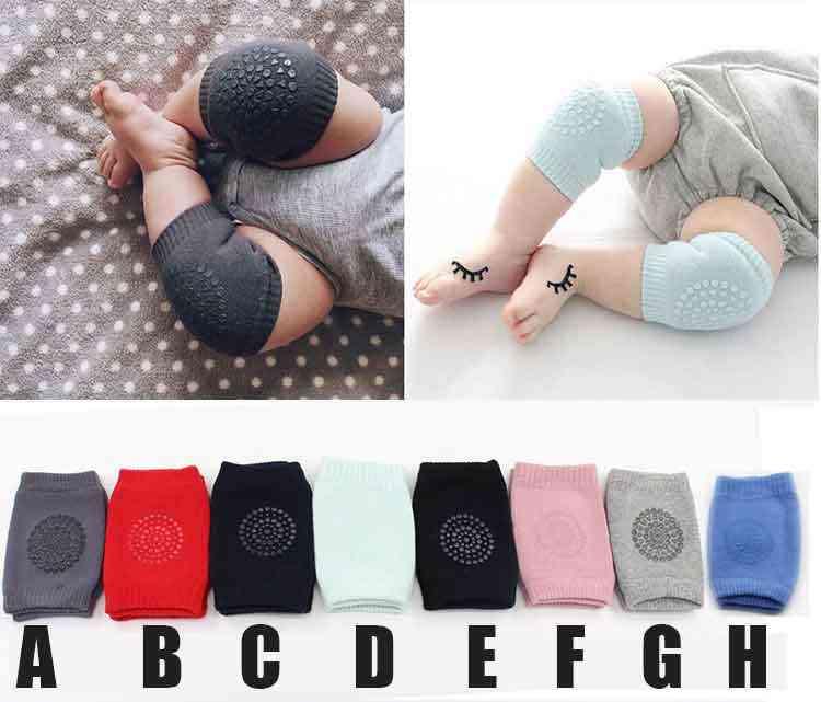 Zachte Mesh Badstof Baby Beenwarmers Peuter Kids Kneepad Protector Antislip Doseren Veiligheid Kruipen Goed Knie Pads Voor kind