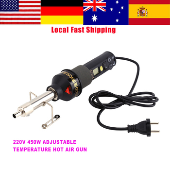 цена на 220V 450W LCD Electronic Heat Hot Air Gun Desoldering Soldering Station IC SMD BGA Adjustable Temperature Welding Supplies New
