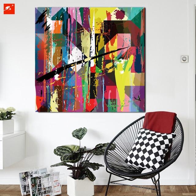 Schön Neues Design Bunte Moderne Abstrakte Leinwand Drucken Wand Kunst Poster  Bild Für Zuhause Wohnzimmer Schlafzimmer Wand