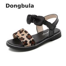 2019 Summer Kids Sandals For Girls Party Shoes Children Beach Little Big Girls Open Toe Flat Pearl Sandals Fashion Comfortable