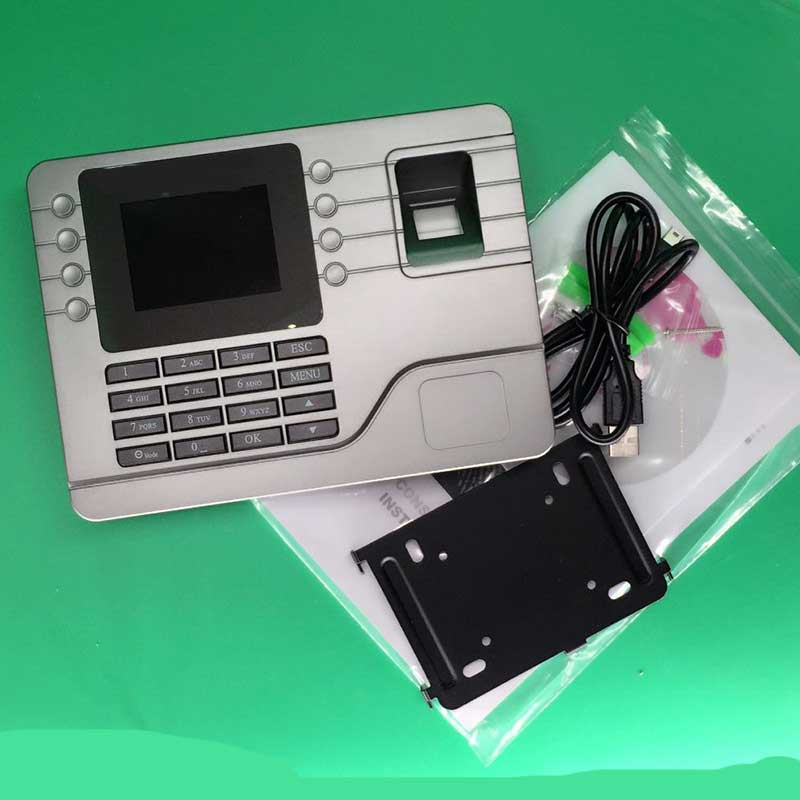 1000users Biometric Fingerprint time attendance machine for College,office , bank and hotel N108