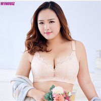 2017 Hot Big Size Bras Push Up Large Cup Bras B C D E F Cup