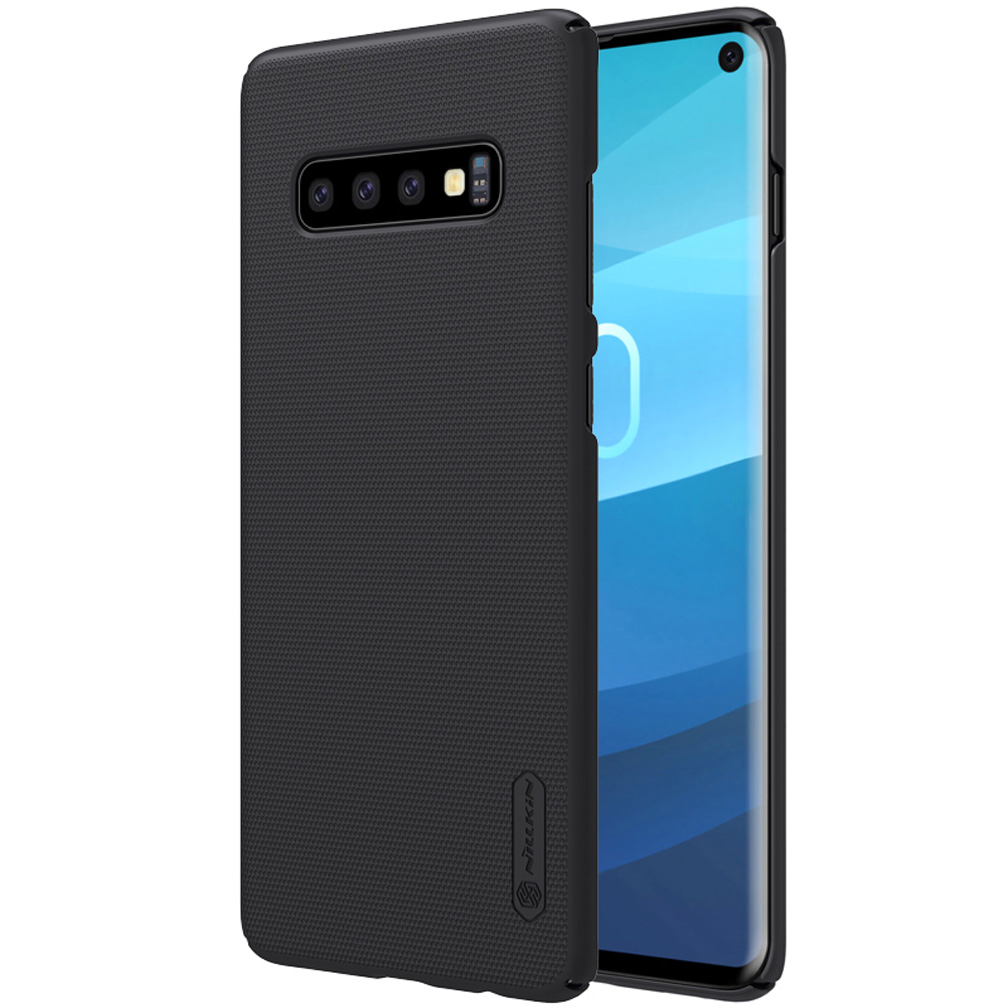 For Samsung Galaxy S10+ Plus / S10 Lite Case NILLKIN Super Frosted Shield hard back cover case For Samsung S10 +gift phone stand