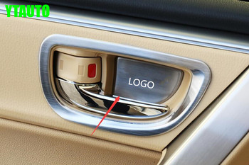 Auto Door Inner Bowl trim, car interior styling sticker for Toyota Corolla 2014-2018,4pcs/lot image