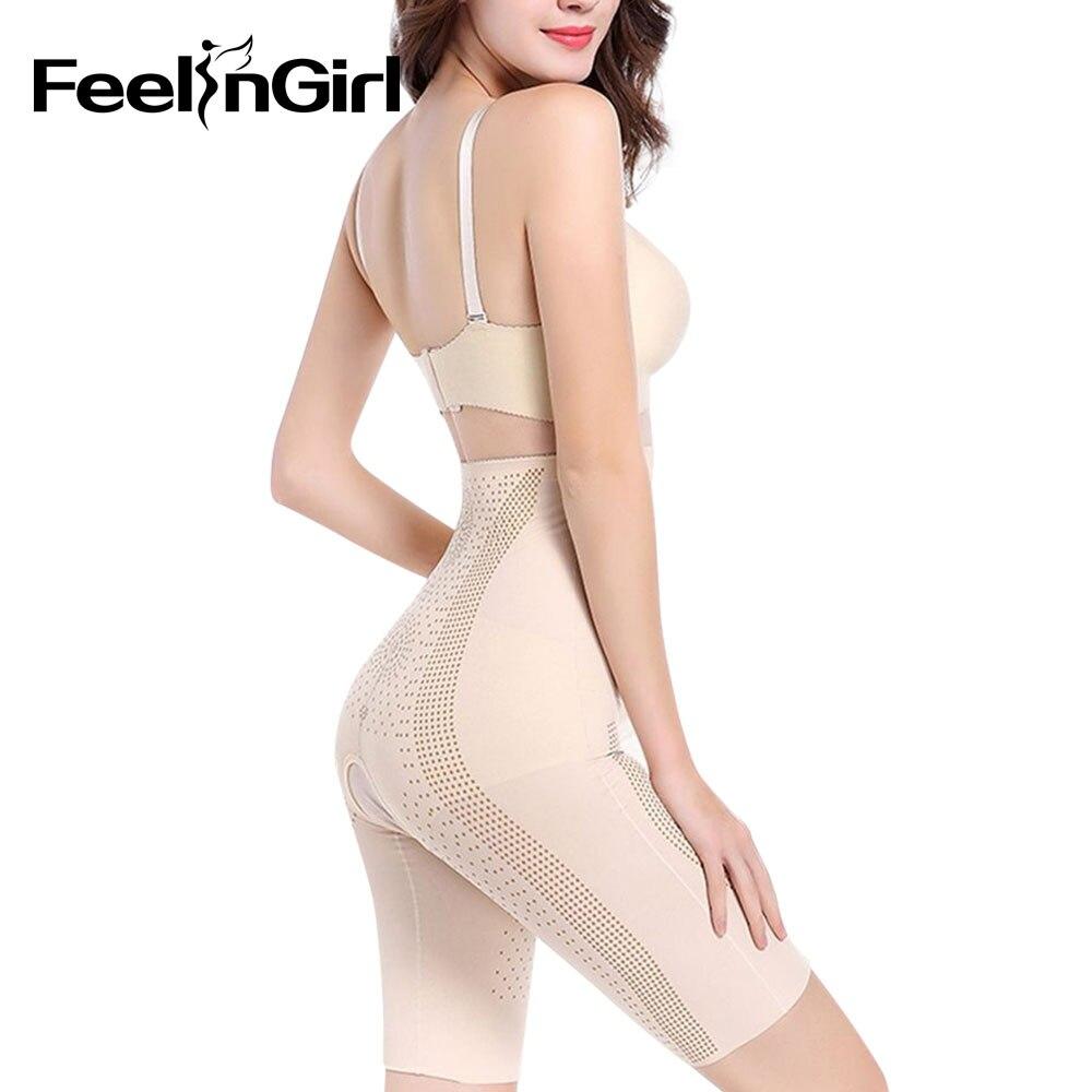 fc23ae948d0 Feelingirl Women s Tummy Control Underbust Slimming Underwear Shapewear Hot  Body Shaper Control Waist Cincher Firm Bodysuits B-in Bodysuits from  Underwear ...
